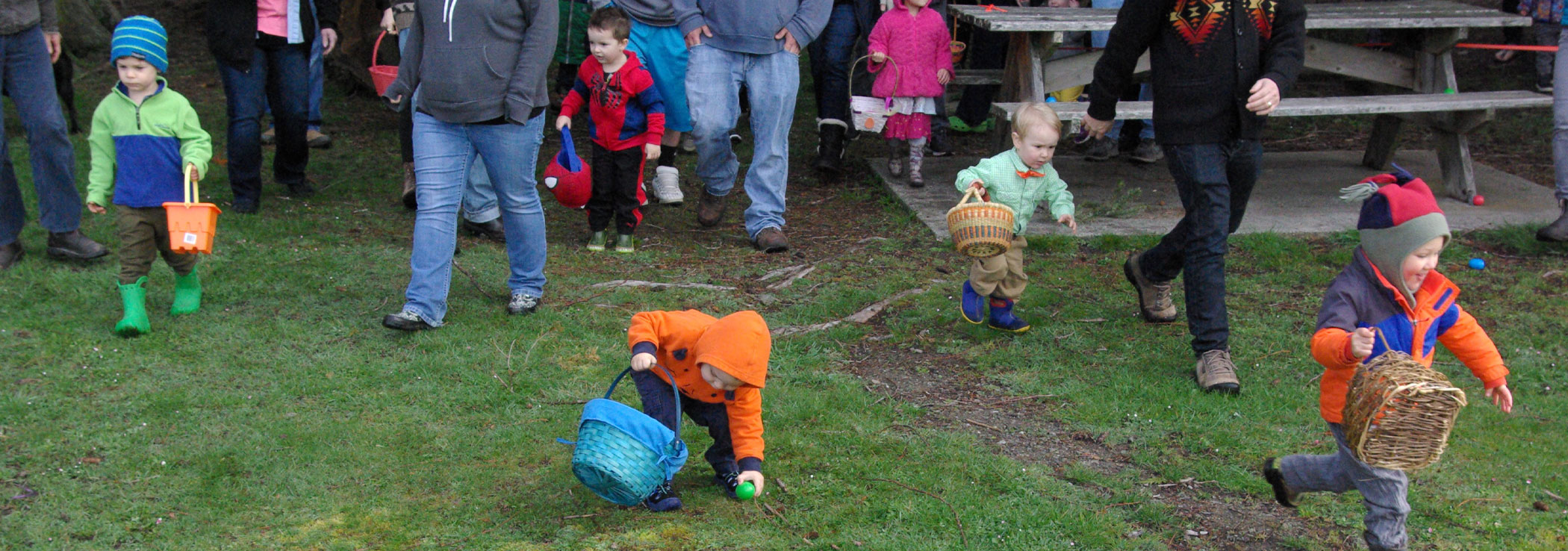 Orcas Island Lions Club Easter Egg Hunt